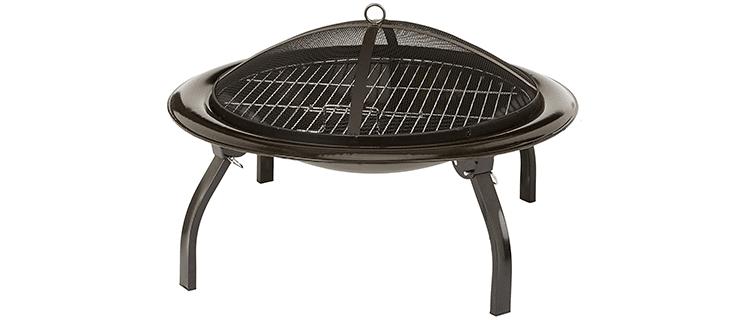 Amazon Basics 26-Inch Folding Fire Pit