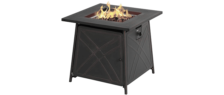 Bali Outdoors Square Fire Pit