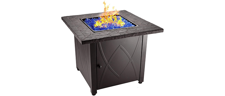 Blue Rhino Outdoor Propane Fire Pit