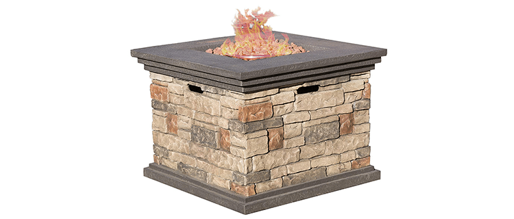 Great Deal Furniture Crawford Fire Pit