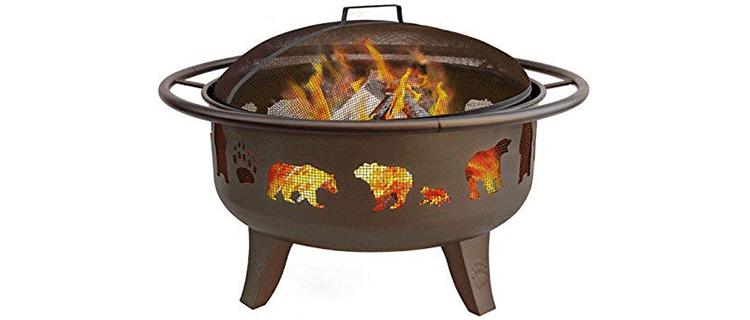 Landman Fire Dance Bear Pit
