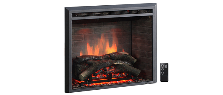 PuraFlame 26-Inch Western Fireplace Insert