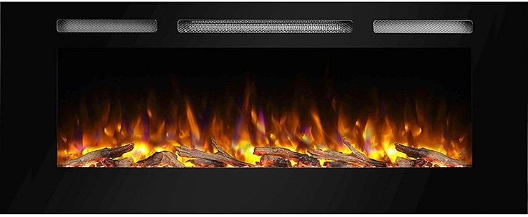 PuraFlame Alice 50-Inch Fireplace
