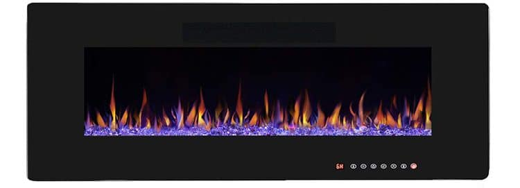 RW Flame 50-Inch Fireplace With Remote