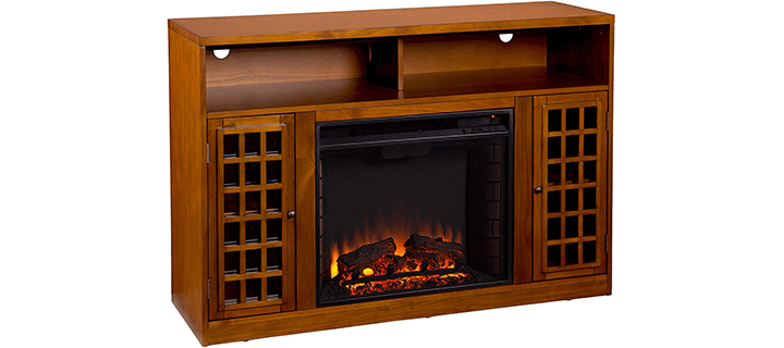 Southern Enterprises 48-Inch Media Fireplace