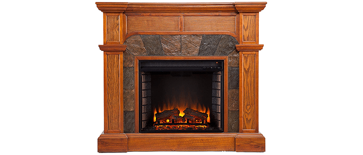 Southern Enterprises Cartwright Convertible Fireplace