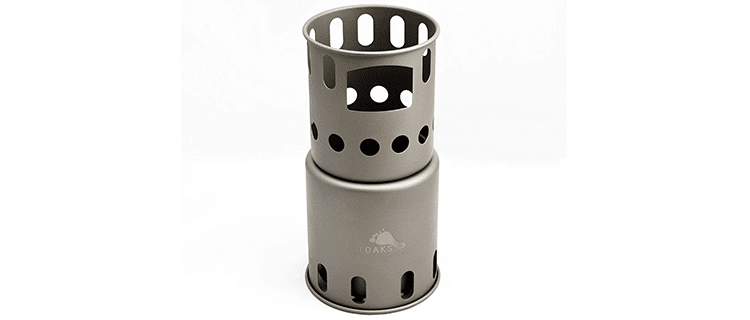 Toaks Titanium Backpacking Stove