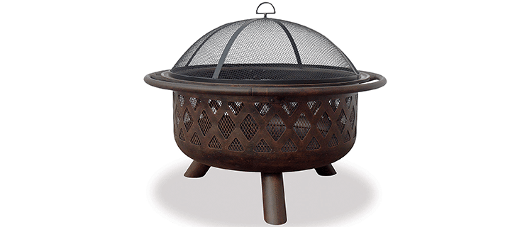 Uniflame Endless Summer Outdoor Fire Pit