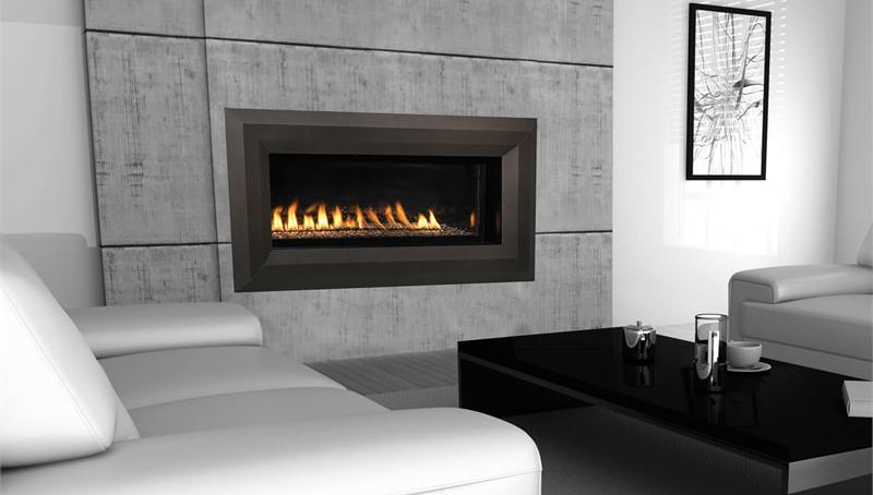 43-Inch Millivolt Linear Vent-Free LP Fireplace