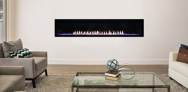 American Hearth Boulevard 72-Inch Fireplace
