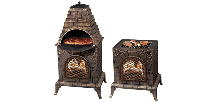 Aztec Allure Cast Iron Oven Chiminea
