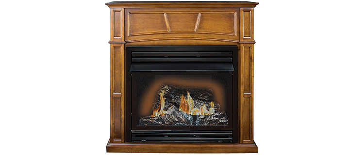 Comfort Glow Remote Controlled Vent-Free Fireplace