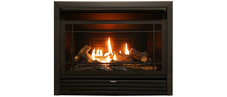 Duluth Forge Dual-Fuel Vent-Free Fireplace