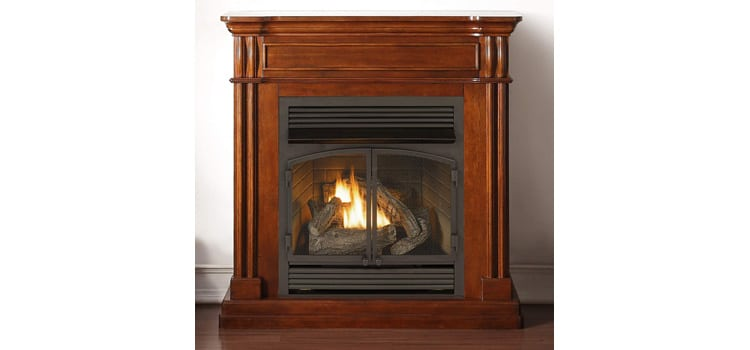 Duluth Forge Ventless Fireplace