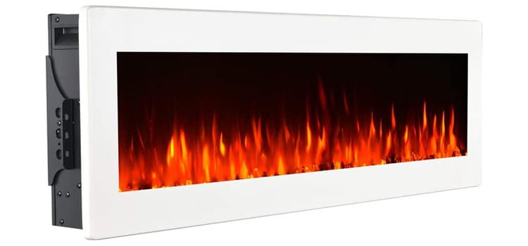 GMHome 40 Inch Wall Mounted Electric Fireplace