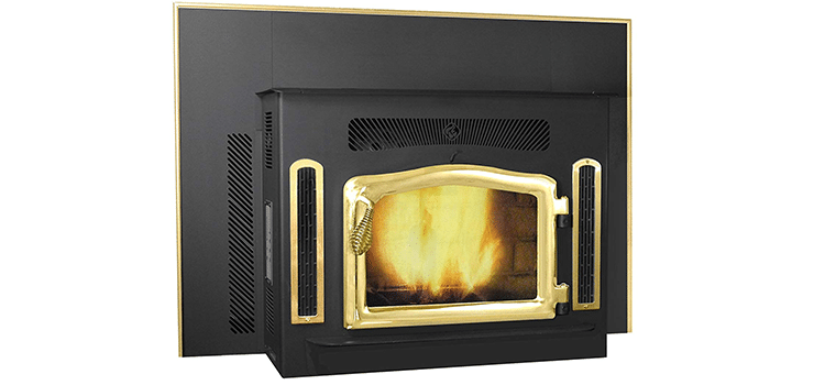 Magnum Classic Country Flame Black Insert