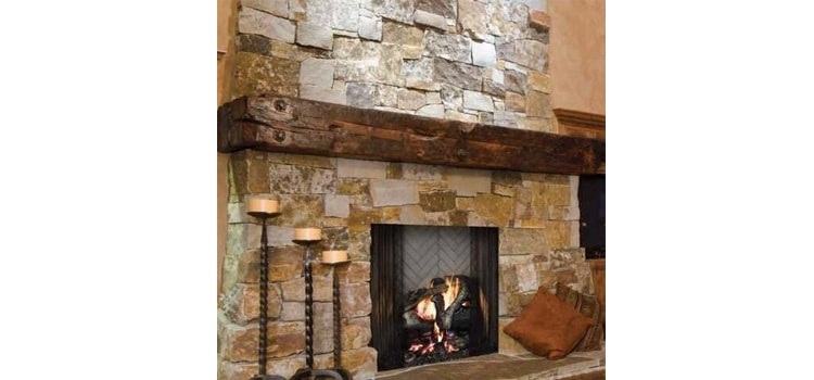 Majestic ASH42 wood-burning fireplace
