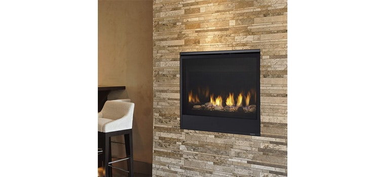 Majestic Quartz Vent Natural Gas Fireplace