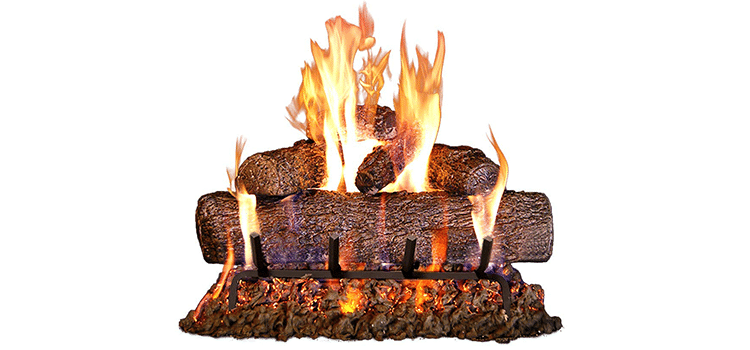 Peterson Real Fyre 24-Inch Log Set With Burner