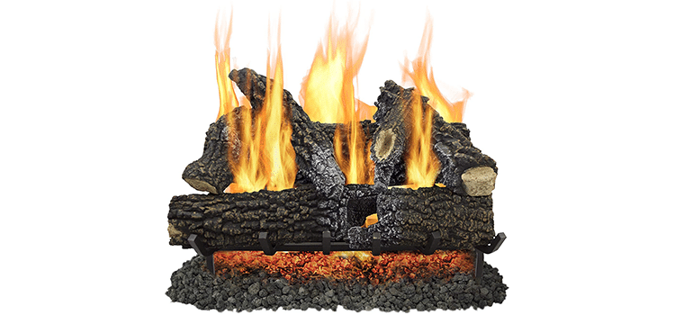 Pleasant Hearth 30-Inch Arlington Ash Vented Log Set
