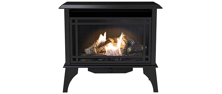 Pleasant Hearth 32-Inch Vent-Free Stove Fireplace