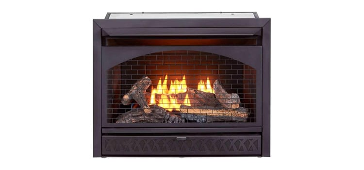 ProCom Ventless Dual Firebox Insert