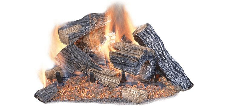 Sure Heat Burnt River Oak 18-Inch Set
