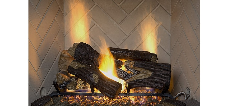 Sure Heat Gas Log Fireplace