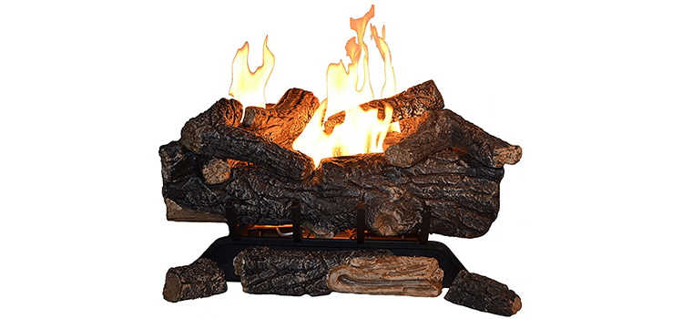 Sure Heat Vent-Free Dual Burner Log Set