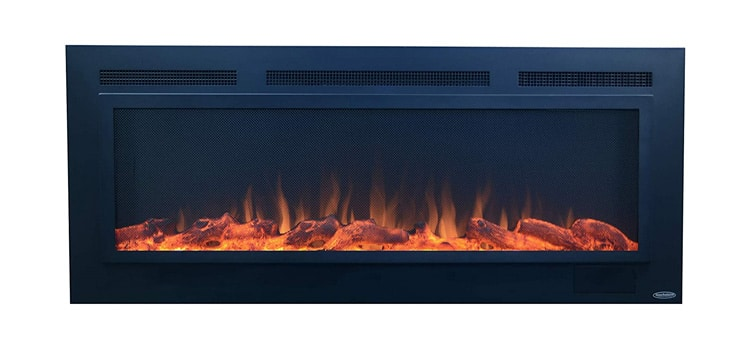 Touchstone Sideline Steel Electric Fireplace