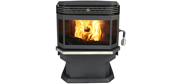 US Stove 5660 Bay-Front Stove