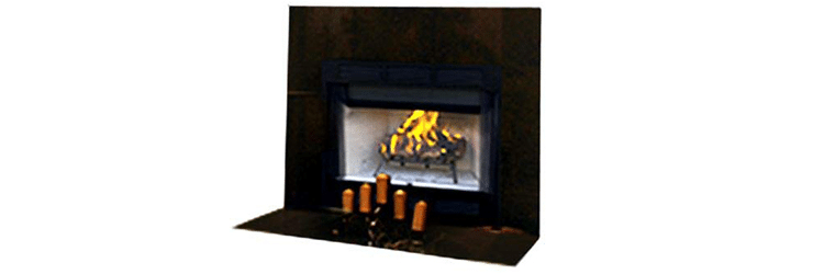 WRT 2036WS 36-Inch Louvered Fireplace