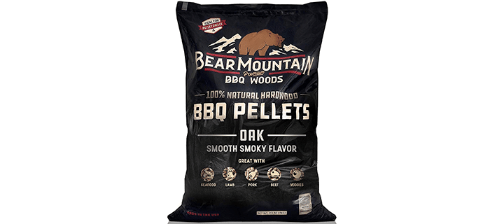 Bear Mountain BBQ 100% All-Natural Hardwood Pellets