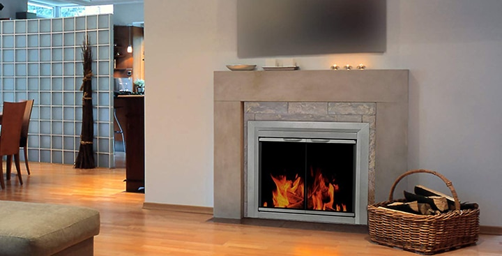 Best Glass Fireplace Doors