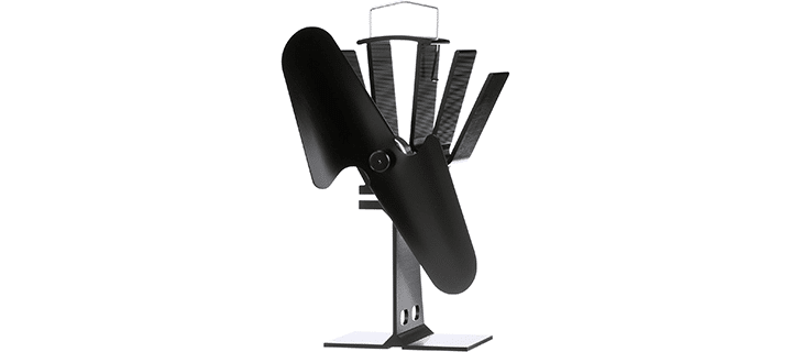 Ecofan Original Wood Stove Fan