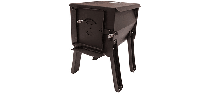 England's Stove Works Survivor 12-CSS cub Portable Camp Cook Wood Stove