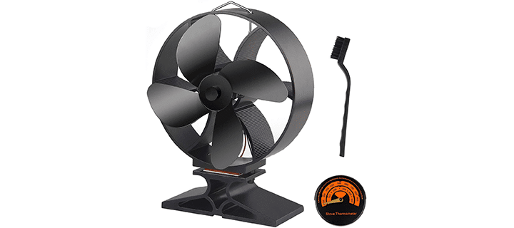 Fepito Wood Stove Fan