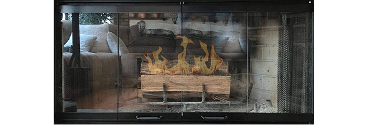 Fireplace Glass Doors for Superior-Lennox Fireplace