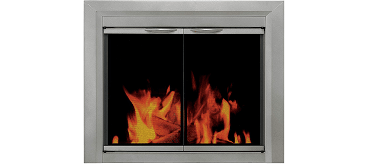 Pleasant Hearth CB-3300 Colby Fireplace Glass Door