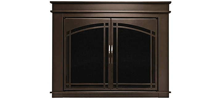 Pleasant Hearth FN-5701 Fenwick Fireplace Glass Door