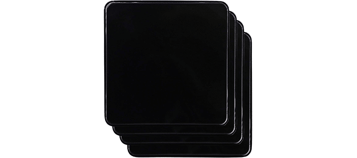 Reston Lloyd G-105-B Square Gas Stove Burner Covers