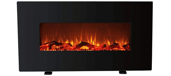 FLAME&SHADE Triple Flame Height Fireplace