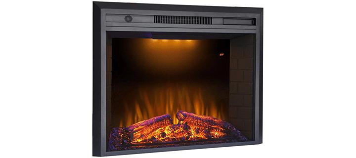 Valuxhome Stylish Insert Type Fireplace