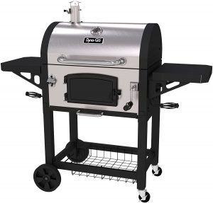 Dyna-Glo Stainless Charcoal Outdoor Grill