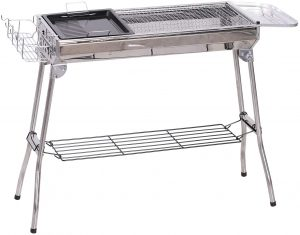 Outsunny Collapsable Portable Charcoal Outdoor Grill