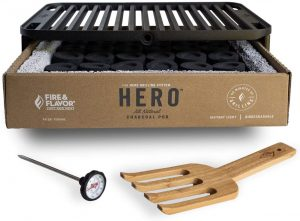Hero Eco-Friendly Portable Outdoor Charcoal Grill