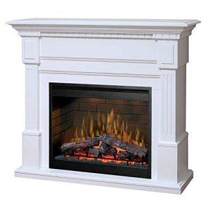 548 Dimplex Essex White Purifire Electric Fireplace GDS30L3 1086W 0