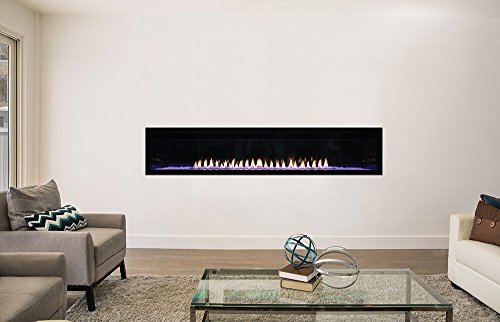 AMERICAN HEARTH Boulevard Vent Free 72 inch Fireplace Natural Gas 0