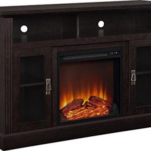Ameriwood Home Chicago Electric Fireplace TV Console for TVs up to a 50 Espresso 0