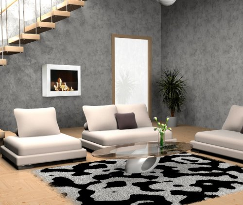 Anywhere Fireplace SoHo Wall Mount Fireplaces White 0 0